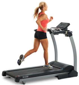 Cardio on a treadmill