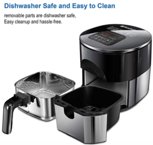 Dishwasher safe air fryer