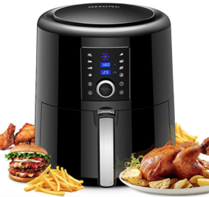 Healthy cooking with an air fryer